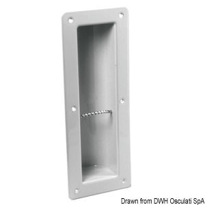 Fire Extinguisher Recessed Housing - With Strap