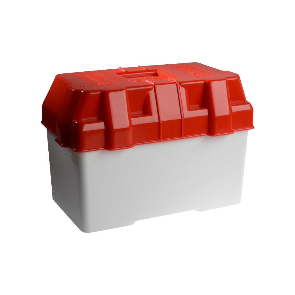 Battery Box - Red - 100A