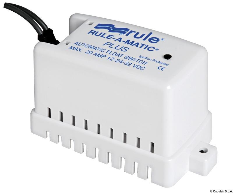 Rule-A-Matic Plus 40A Automatic Bilge Pump Switch