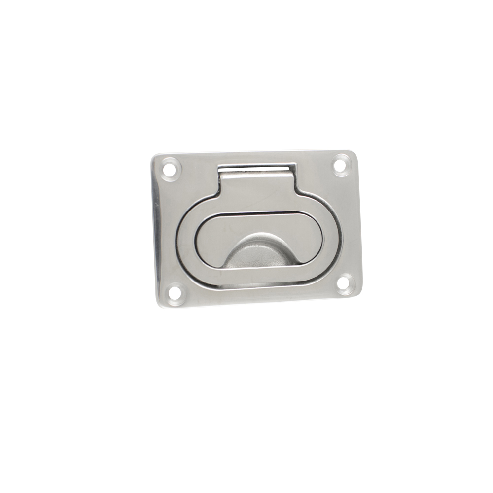 Handle - Flush Pull - Stainless Steel - 55 x 77mm