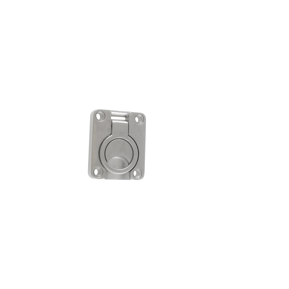Handle - Ring Pull - Stainless Steel - 56 x 48mm