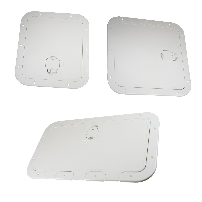 Removable Deck Hatch - Flush - White