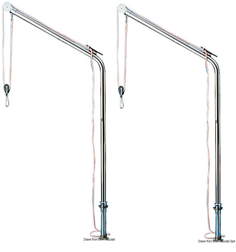 Removable, Swivelling Davit - Single or Pair