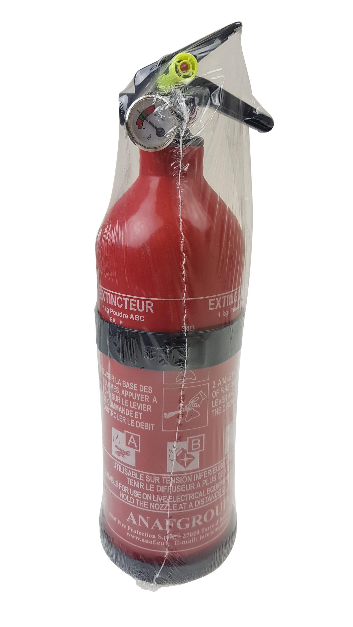 Fire Extinguisher (1KG) - With Pressure Gauge